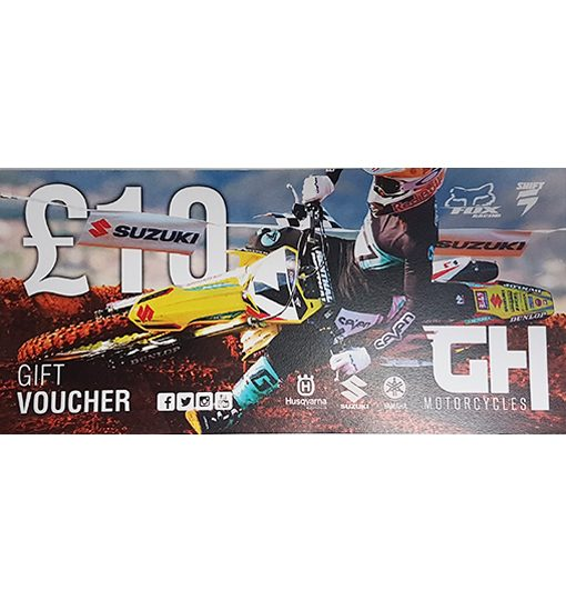 £10 GH Motorcycles Gift Voucher