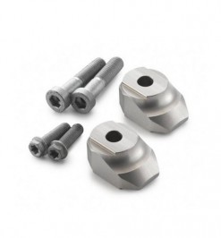 CNC Handlebar Risers 10mm TC 85 Models 2014 - 2017