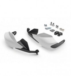 Husqvarna Wrap Around Handguards White Low Version