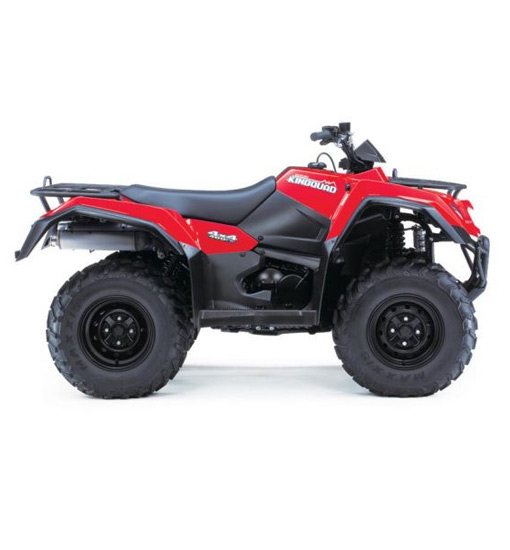 Suzuki King Quad 400 Manual – Red