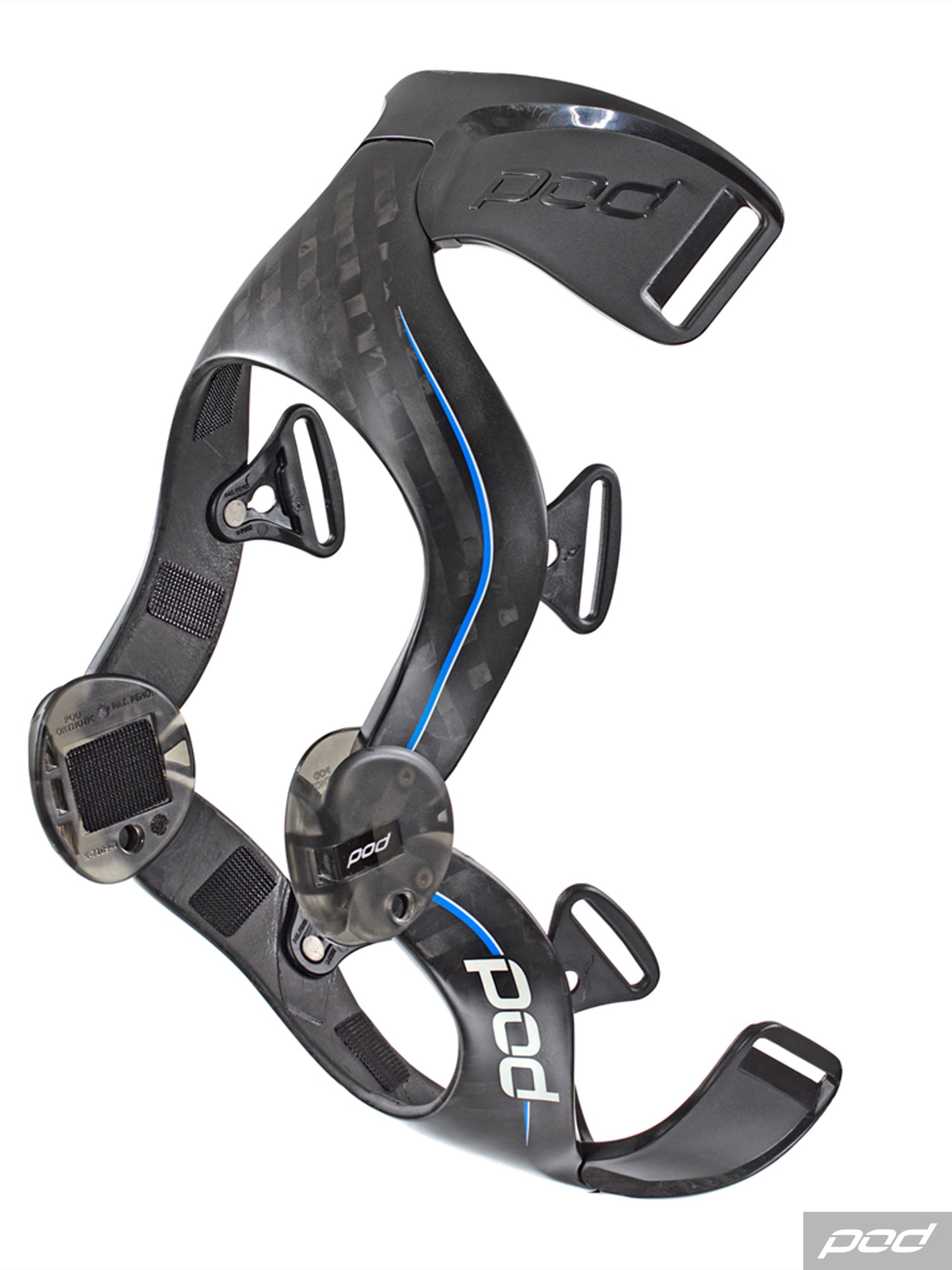 Mx Knee Braces >> POD K8 Knee Braces - Carbon - Black - GH Motorcycles