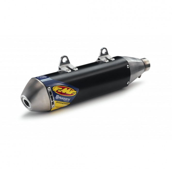 Husqvarna FMF Black Slip On Silencer