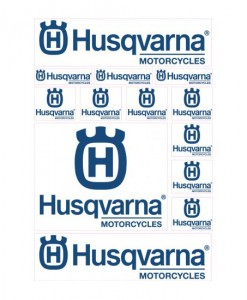 Husqvarna Sticker Sheet