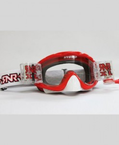 Rip n Roll Hybrid XL Red Goggles