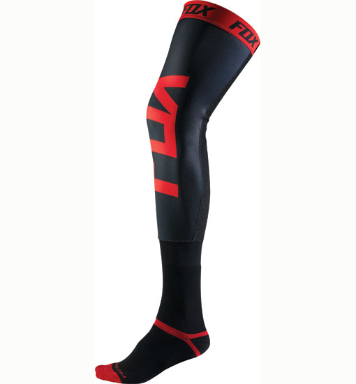 Pro-Forma-Knee-brace-socks-Black-Red