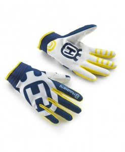Husqvarna Railed Mx Gloves Blue