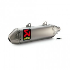 Husqvarna Akrapovic Exhaust System Slip On