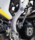 Husqvarna 2016 Motocross Frame Protector Decals - White