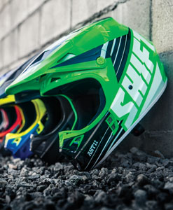 Shift Motocross Helmets