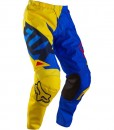 2015 Fox 180 Vandal Race Pants Yellow Blue