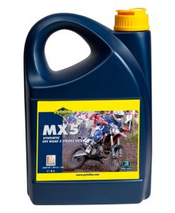 Putoline MX5 Synthetic Off-Road 2 Stroke Oil 4L