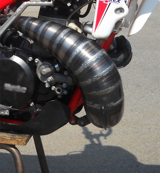 Fresco 250cc Header Pipe Ktm Husqvarna Tc  Te250 Sx  Exc250
