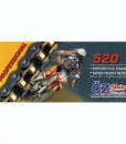 CZ Chains Motorcycle Chain 520 H Professional
