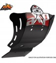AXP GP Skid Plate Inc Wings Honda CRF450 09-15