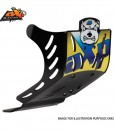 AXP GP Skid Plate Inc Wings Suzuki RMZ450 08-15