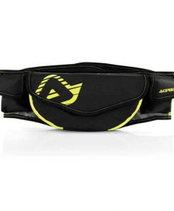 CAPACITY: 2 LITERS Made of reinforced polyester with fluo inserts. Double closure through elastic belt with Velcro (1) and plastic buckle (2), rubber patch on the lower back (3) to ensure a snug fit. Belt with pocket for drivers license or stamp card (4), with internal rider identifying label. Numerous pockets: back pocket for tools (5) including an extra compass pocket, two side pockets for other riding essentials (6)