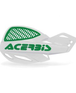 Acerbis Uniko Vented Hand Guards White Green