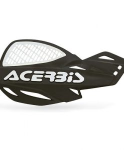 Acerbis Uniko Vented Hand Guards Black White