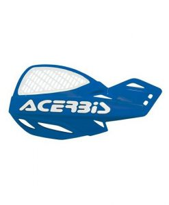 Acerbis Uniko Vented Hand Guards Blue White