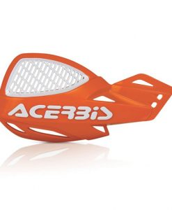 Acerbis Uniko Vented Hand Guards Orange White