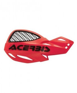 Acerbis Uniko Vented Hand Guards Red Black