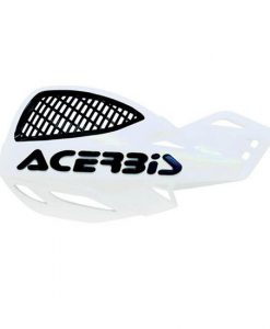 Acerbis Uniko Vented Hand Guards White Black