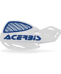 Acerbis Uniko Vented Hand Guards White Blue