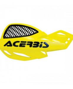 Acerbis Uniko Vented Hand Guards Yellow Black