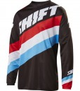 2017 Shift Whit3 Tarmac Youth Jersey Black
