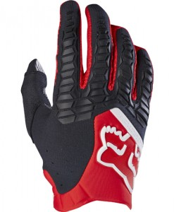 2017 Fox Pawtector Glove Red