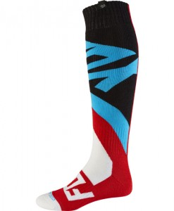 2017 Fox Creo Coolmax Thick Sock Red