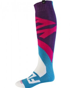 2017 Fox Creo Coolmax Thick Sock Teal