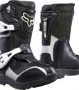 2017 Fox Comp 5K Boots Black Silver