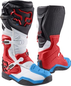 2017 Fox Comp 8 Boot Red White