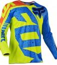 2017 Fox Youth 180 Nirv Jersey Yellow Blue