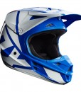 2017 Fox V1 Race Helmet Blue