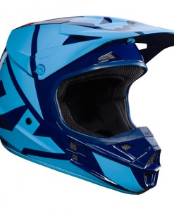 2017 Fox V1 Race Helmet Navy