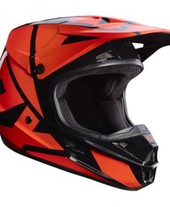 2017 Fox V1 Race Helmet Orange