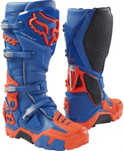 2017 Fox Instinct Offroad Boot Blue