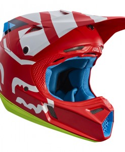 2017 Fox V3 Creo Helmet Red