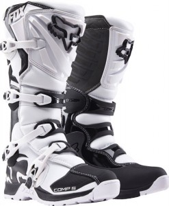 2017 Fox Comp 5y Boot White