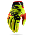 2017 100% Ridefit Gloves Yellow Black