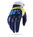 2017 100% Airmatic Gloves Navy Yellow