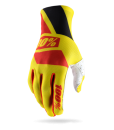 2017 100% Cilium Gloves Neon Yellow