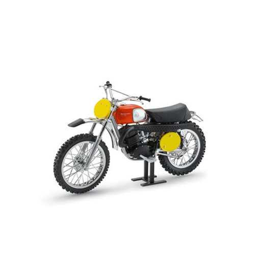 Husqvarna Cross 400 1970 B.Aberg Replica Model Bike