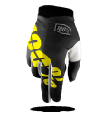 2017 100% Youth iTrack Gloves Black Neon