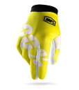 2017 100% Youth iTrack Gloves Neon Yellow