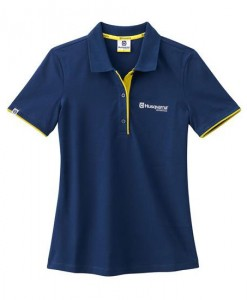 2017 Husqvarna Girls Basic Logo Polo