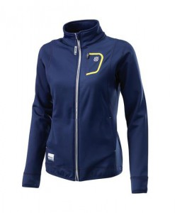 2017 Husqvarna Girls Basic Logo Zip Jacket