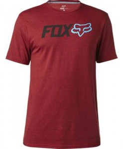 2017 Fox Obsessed SS Tech Tee Heather Red